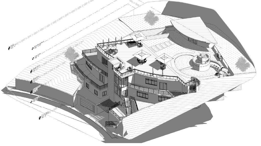 4036 Sunswept Studio City Single Family Isometric Plan