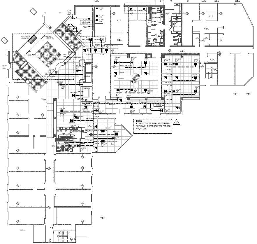 Marriott Courtyard Conversion Mechanical Plan