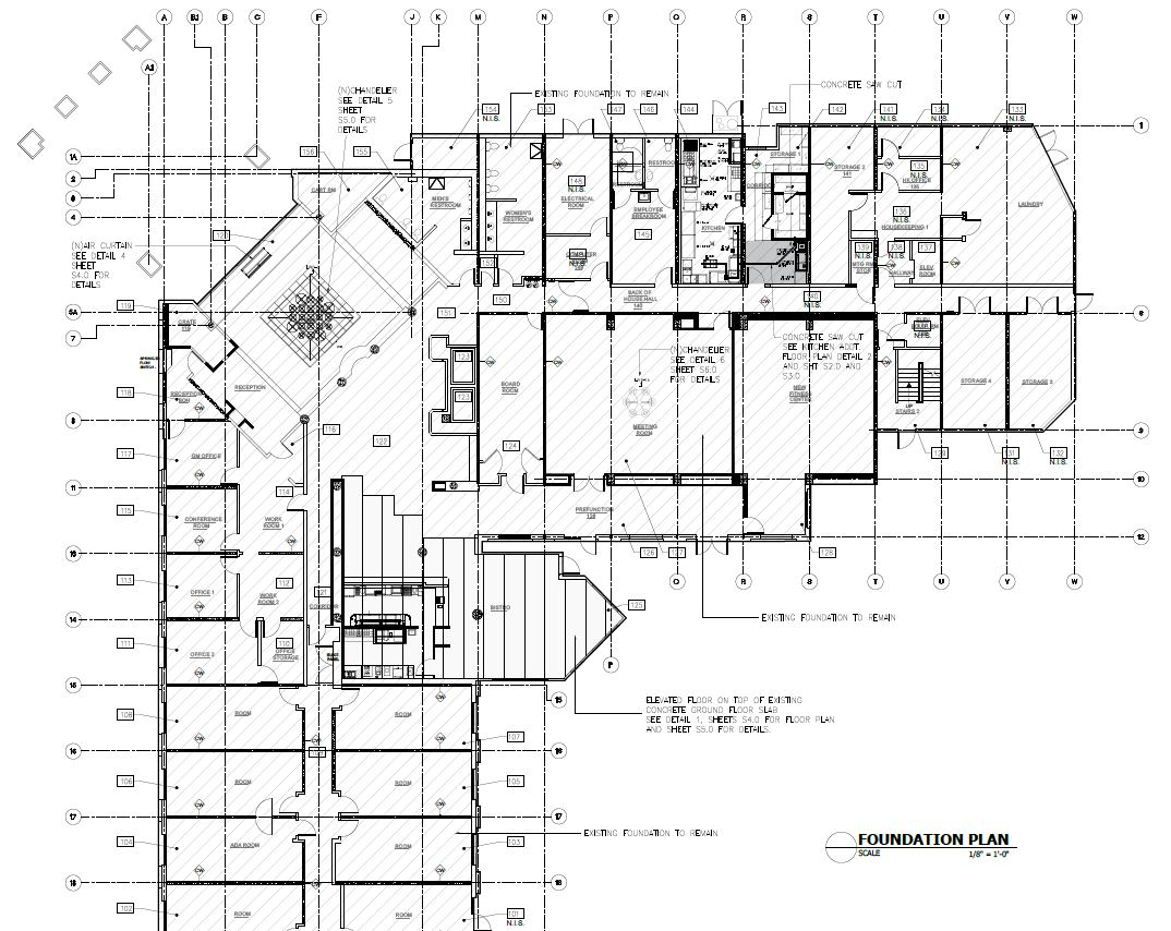 Marriott Courtyard Conversion Structural Improvements