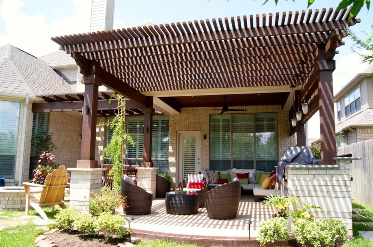 Pergola Backyard Patio Roof