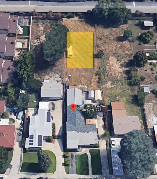 San Dimas Google Map