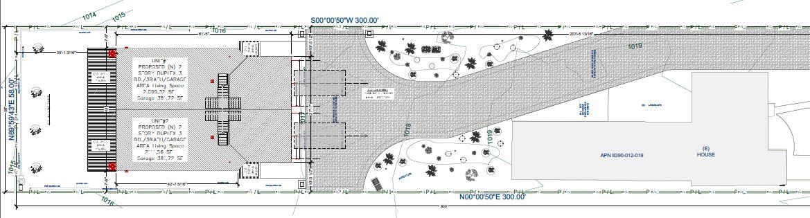 San Dimas Site Plan