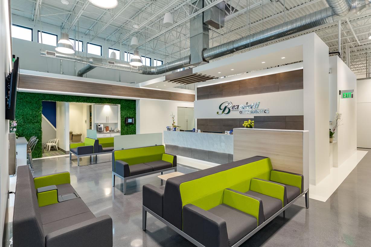 Orthodontics Practice Lobby Design