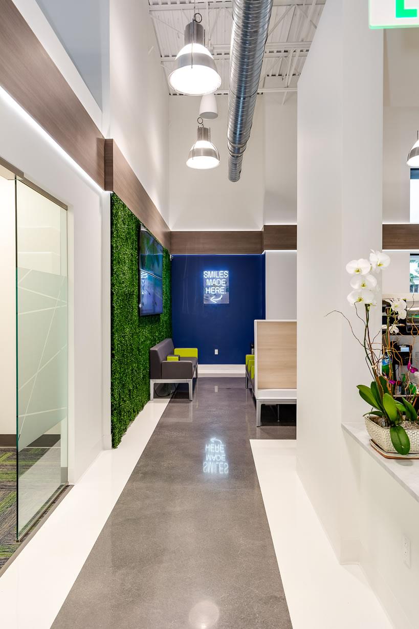 Orthodontics Practice Corridor Design