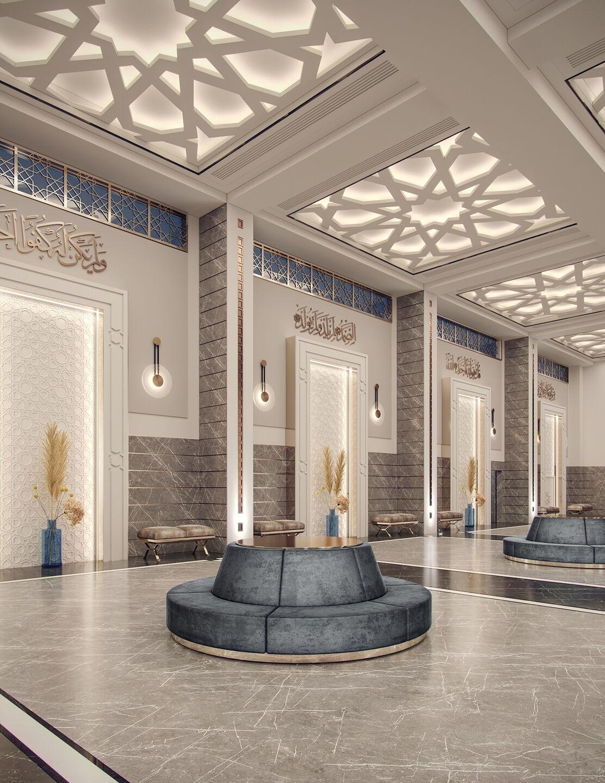 Memphis Masjid Main Lobby